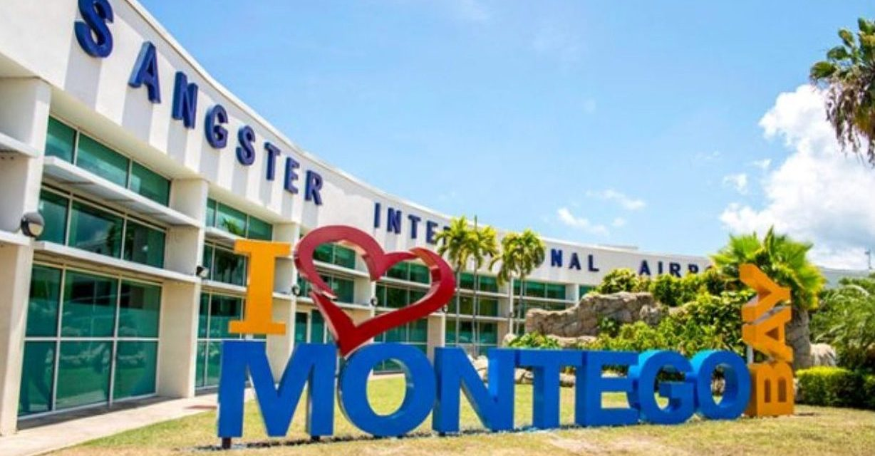 The Donald Sangster International Airport- the gateway to Jamaica