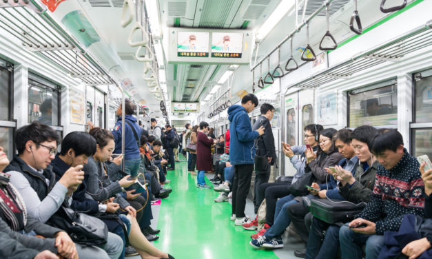 The Metro System in Seoul- South Korea